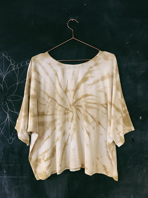 Alder Dye Silk T Shirt