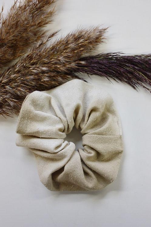 Nettle Dye Silk Scrunchie