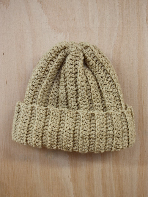 Plant Dyed Wool Hat