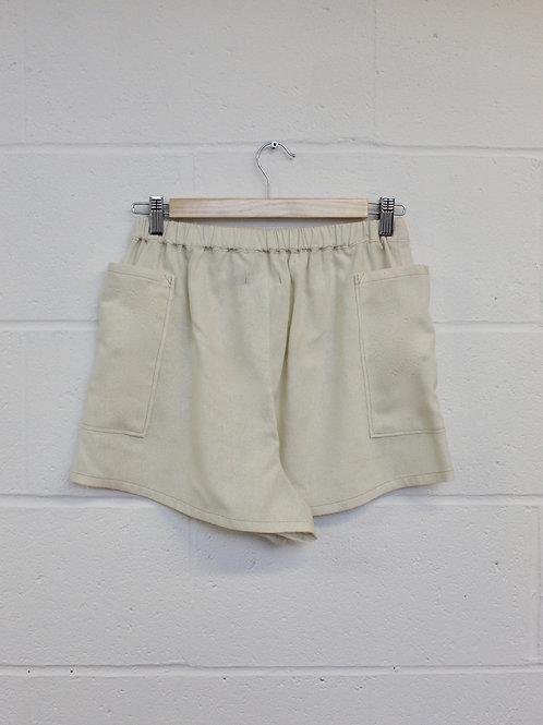 Undyed Silk Shorts