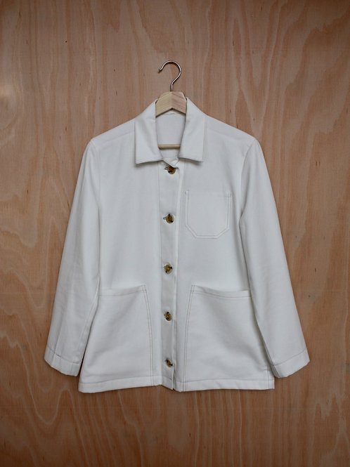 Organic Cotton Drill Jacket