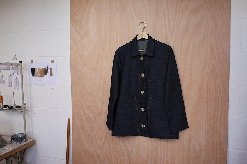 Organi Denim Work Jacket