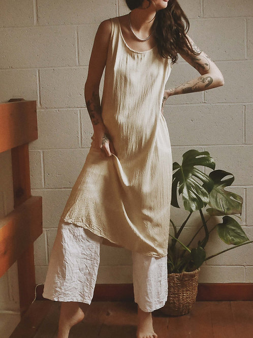 Plant Dyed Bamboo Dress