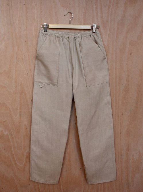 Organic Denim Easy Pants