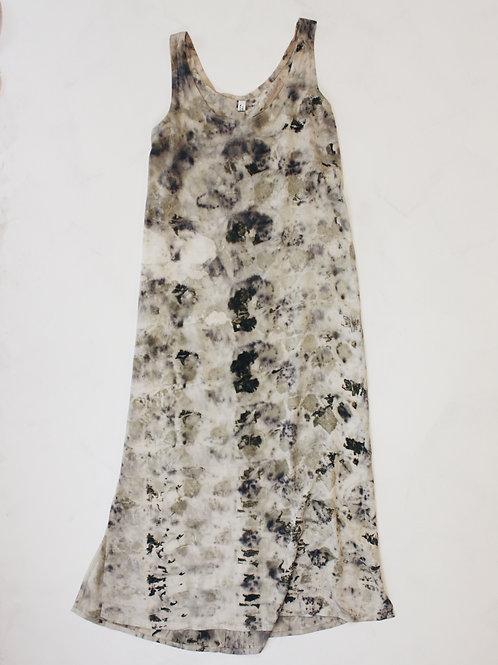 Silk Plant Dyed Dress