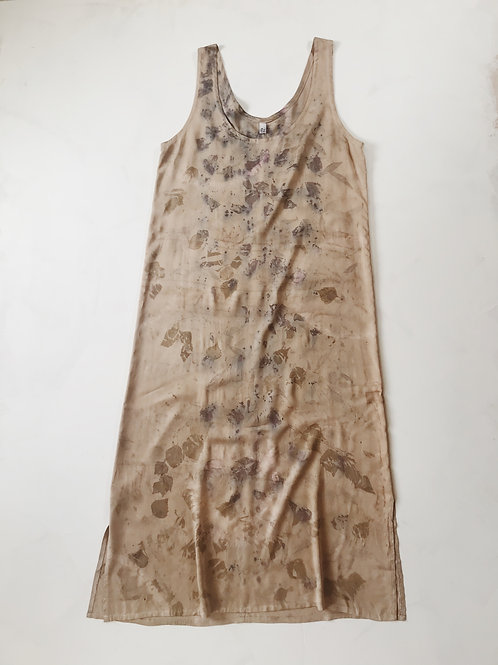 Bamboo Silk Plant Dyed Dress