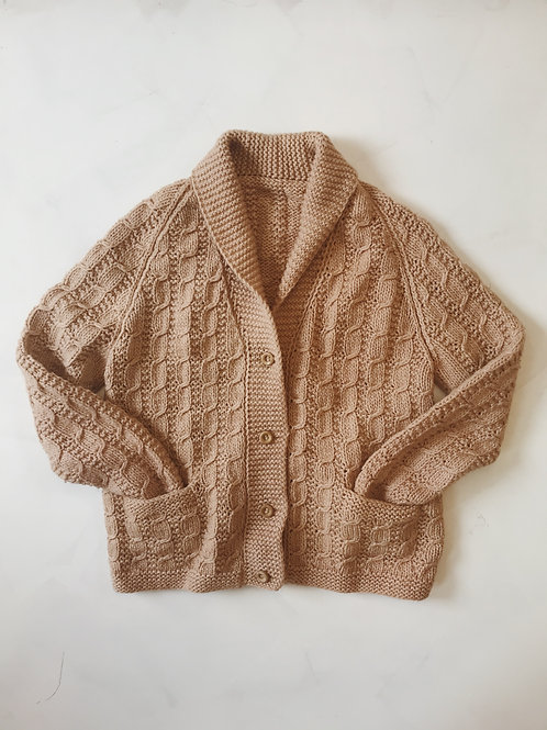 Plant Dyed Pre Loved Cardigan
