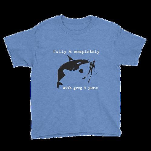 Youth Killer Whale Tank Short Sleeve T-Shirt