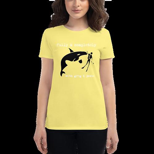 Women's Killer Whale Tank short sleeve t-shirt