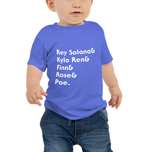 Team Duel of the Fates Baby Jersey Short Sleeve Tee