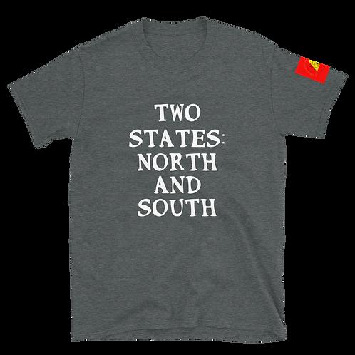 Two States Short-Sleeve Unisex T-Shirt