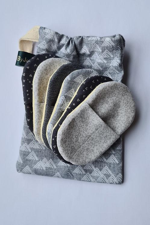 Light & dark Grey (6 light pads)