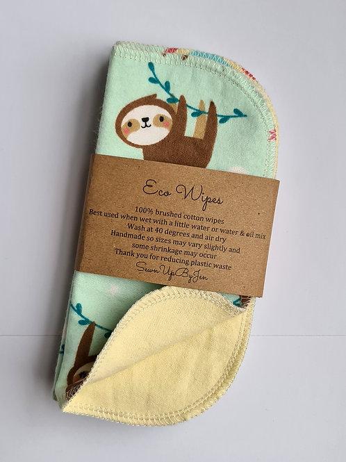 Eco Wipes - Sloths