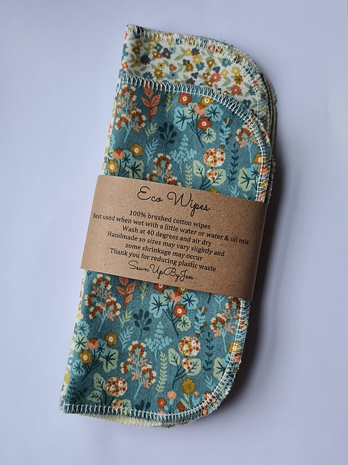 Eco Wipes floral