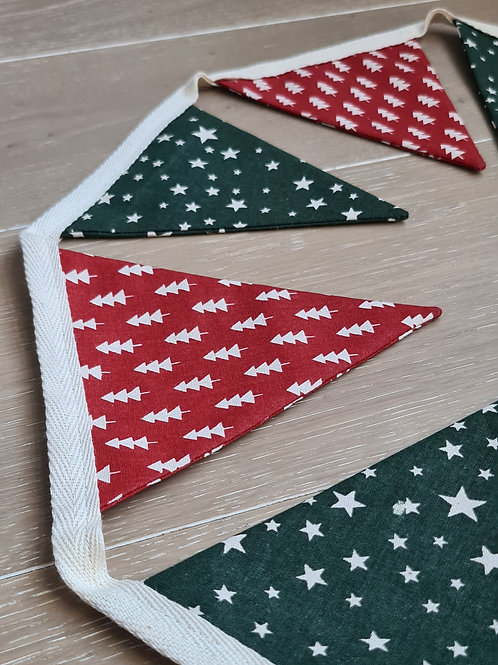 Bunting Red & Green