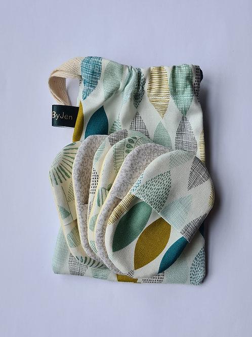 Leaves  & grey (6 light pads)