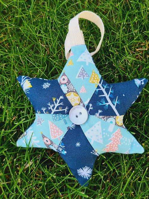 Christmas Star - Turquoise