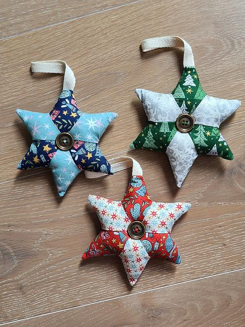 Set of 3 Liberty Stars
