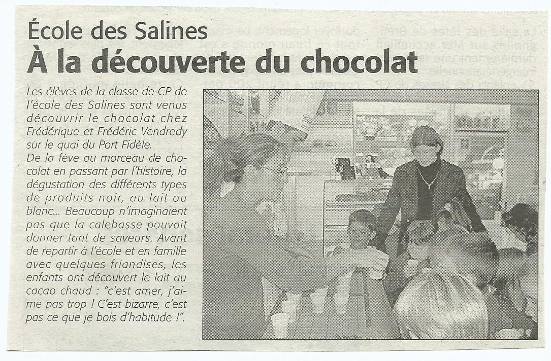 Le courrier vendeen novembre 2007.jpg