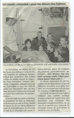 Le courrier vendeen nov 2007.jpg