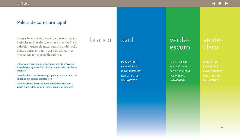 Manual de marca Eletrobrás - exemplo