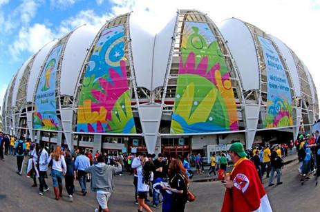 Beira-rio Copa do Mundo 2014 - Comunicação Visual