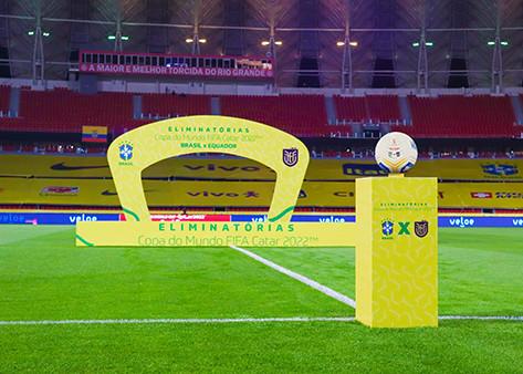 Comunicação visual nos estádios de futebol