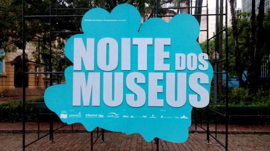 Noite dos Museus - Comunicação Visual