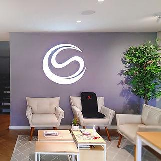 Comunicação Visual - Logo Cia do Sono em Letra Caixa