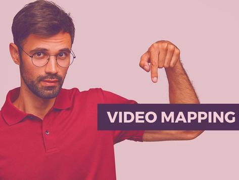 Video mapping em espaços urbanos