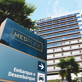 Comunicação Visual - Totem Medplex Porto Alegre