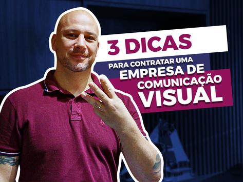 3 dicas para não errar na comunicação visual