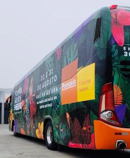 Ônibus Pompeia - Comunicação Visual