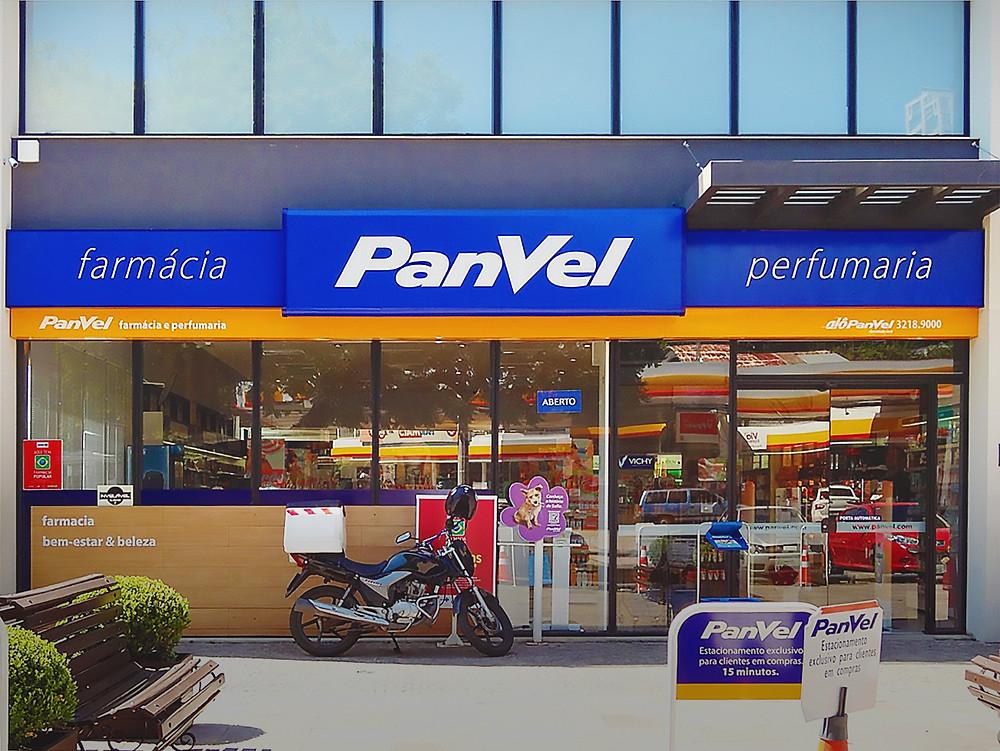 Fachada da Farmácia Panvel em Acm