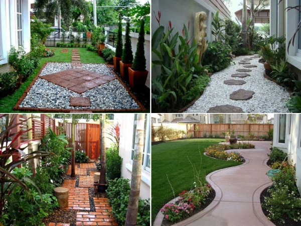 Walkway and garden ideas
