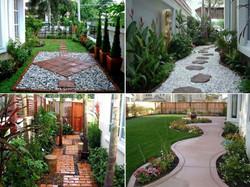 Walkway and garden ideas