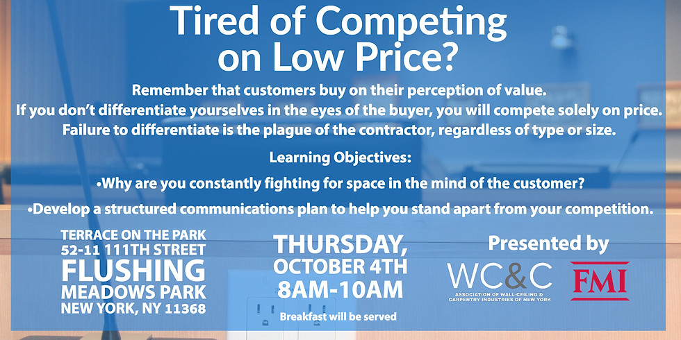 Tired of Competing on Low Price? A Presentation by FMI