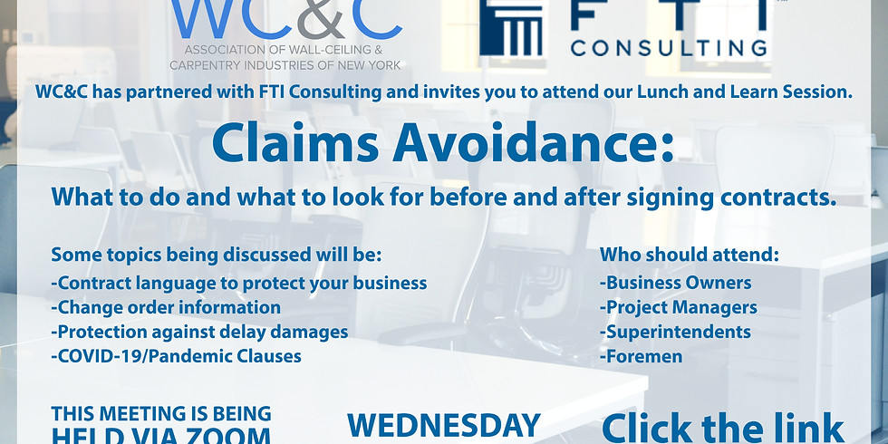 Claims Avoidance: What to do and what to look for before and after signing contracts.