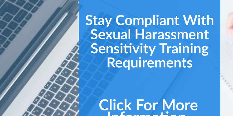 Sexual Harassment Sensitivity Training Session