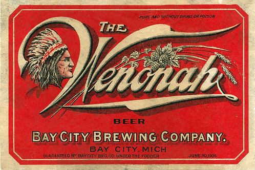 The Wenonah Beer Bay City Brewing Company