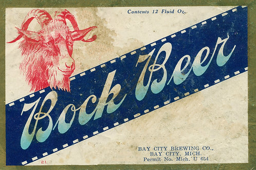 Bock Beer Bay City Brewing Company