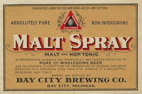 Malt Spray Bay City Brewing Company