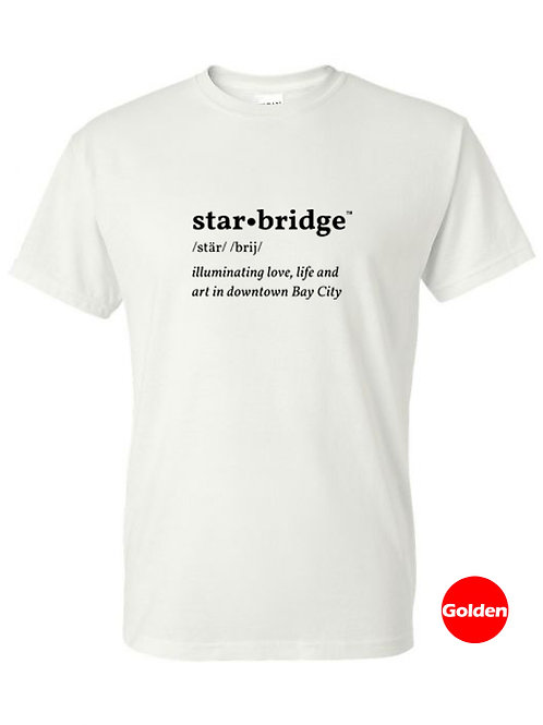Bay City Star Bridge™  definition T shirt 100% polyester