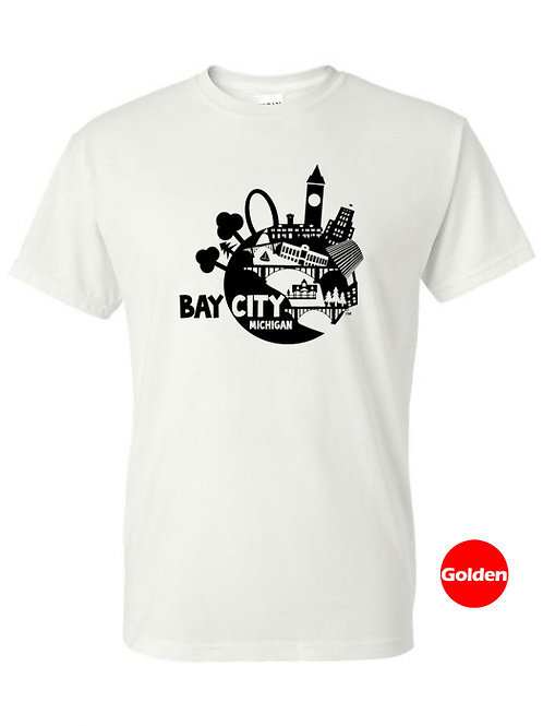 Bay City Globe - T Shirt