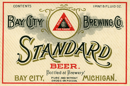 Standard Beer Bay City Brewing Company