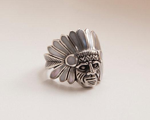 Anel Índio Madrepérola