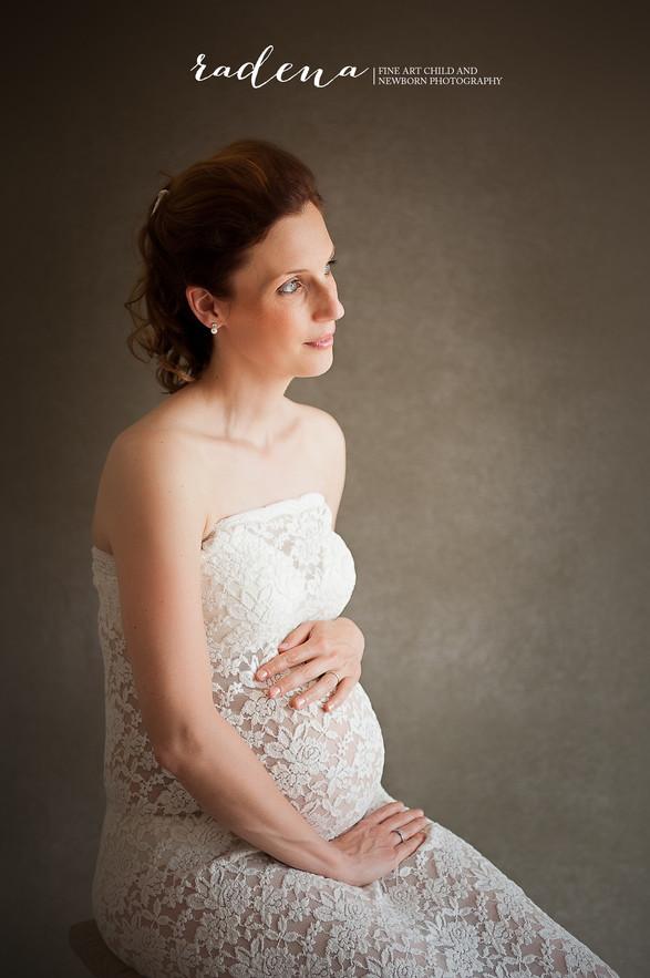 Newborn - Bolle buiken - maternity