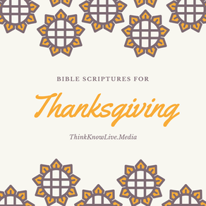 22 Bible Verses For THANKSGIVING