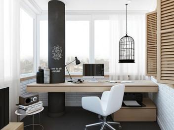 4 совета по созданию домашнего офиса в маленькой квартире