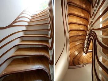 20 красивых современных лестниц